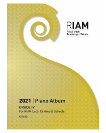 RIAM Piano Album 2021 Grade 4 RIAMP421