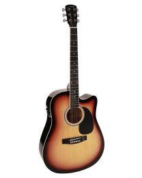 Nashville Dreadnought Acoustic Guitar GSD-60-CESB Sunburst