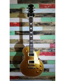 Sire Electrics L7 Series Larry Carlton Electric Guitar, L-Style Goldtop, L7/GT