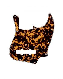 Boston Jazz Bass Style Pickguard Wildcat Yellow