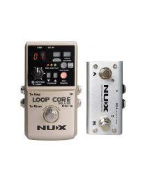 Nux Core Series Loop Pedal Bundle Loop Core Deluxe LOOPCDLX/B