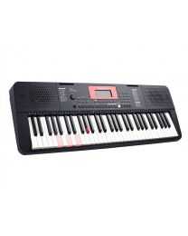 Medeli Portable Electronic Keyboard M221L with light up keybed 2 x 3 Watt