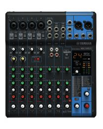 Yamaha Mixer 10-Channel SPX Effects & USB Audio Interface with Cubase AI MG10XU