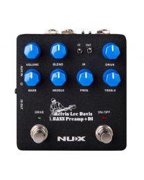 "NUX Verdugo Series Bass Preamp ""Melvin Lee Davis Signature"" Pedal, NBP-5"