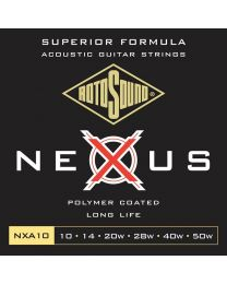 2 Sets of Rotosound Nexus Coated Acoustic Strings