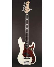 Sire Marcus Miller P7 2nd Gen Series Alder 5-String Bass Guitar P7+ A5/AWH Antique White