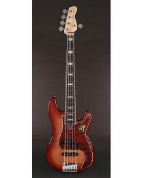 Sire Marcus Miller P7 2nd Gen Series Alder 5-String Bass Guitar P7+ A5/TS Tobacco Sunburst