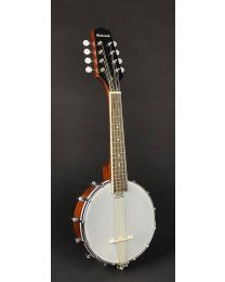 Richwood Master Series Open Back Mandolin Banjo with Mahogany Rim RMBM-408