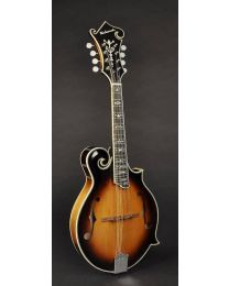 Richwood All Solid Master Series F-Style Mandolin with Solid Maple Body & Solid Spruce Top RMF-100-VS Vintage Sunburst
