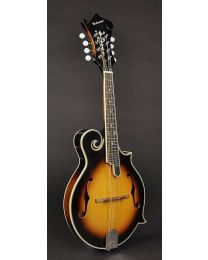 Richwood Master Series F-Style Mandolin with Spruce Top RMF-60-VS Vintage Sunburst