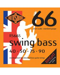 RS66S |Short scale Rotosound Swing Bass 66 string set electric bass stainless steel 40-90