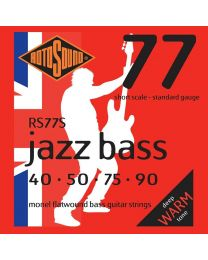 RS77S |Short scale Rotosound Jazz Bass 77 string set electric bass monel flatwound 40-90