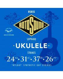 Rotosound String Set Soprano Ukulele 'Nylgut' Synthetic Gut RS85S
