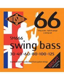 Rotosound 'Swing Bass 66' SM666 6 String Hybrid 30-125