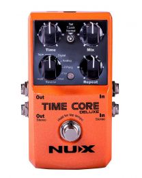 NUX Core Series Delay/Looper Pedal TIME CORE DELUXE, TIMECDLX