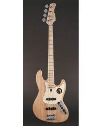 Sire Marcus Miller V7 2nd Gen Series Swamp Ash 4-String Bass Guitar Natural V7+ S4/NT