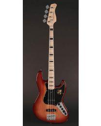 Sire Marcus Miller V7 Vintage 2nd Gen Series Alder 4-String Bass Guitar Tobacco Sunburst V7V+ A4/TS