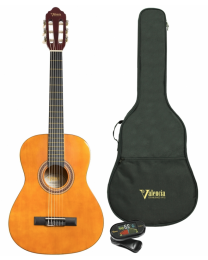 Valencia VC103K Classical Guitar Pack 3/4 Size Natural
