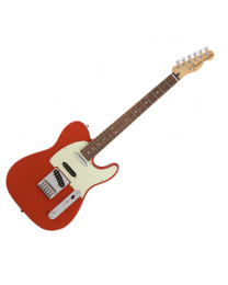 Fender Deluxe Nashville Telecaster, PF, Electric Guitar 014-7503-340 Fiesta Red