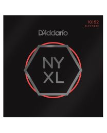 DAddario Nickel Wound Electric Guitar Strings, Light/Heavy, 10-52 NYXL1052