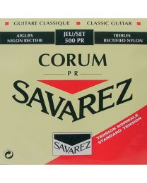 Savarez 500 PR Rectified New Cristal Classical Guitar Strings Normal Tension