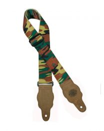 Gaucho Grass Series Army Pattern Guitar Strap GST-100-AR