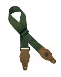 Gaucho Grass Series Army Green Guitar Strap GST-100-AGN