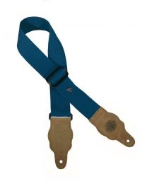 Gaucho Grass Series Blue Guitar Strap GST-100-CU