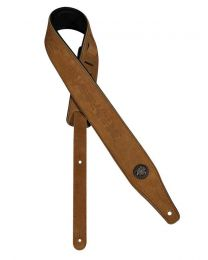 Gaucho Top Quality Suede Guitar Strap - Light Brown
