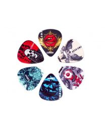 Boston Rock Picks - 6 Piece Pick Kit - Mix of Gauges