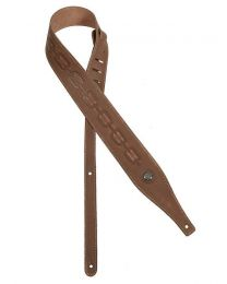 Gaucho Buffalo IV Series guitar strap - Brown GST-644-BR