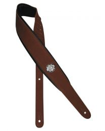 Gaucho Padded Guitar Strap, Dark Brown