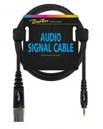 Boston audio signal cable, XLR male to 3.5mm jack stereo, 6.00mtr