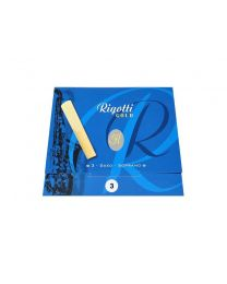 Rigotti Gold Soprano Sax Reeds - 3 Pack - Size 3.0 RGS30/3