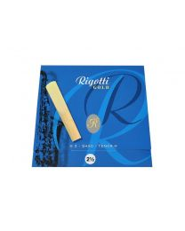 Rigotti Gold Tenor Saxophone Reeds 3 Pack - 2.5 RGT25/3