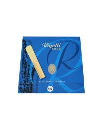 Rigotti Gold Tenor Saxophone Reeds 3 Pack - 1.5 RGT15/3