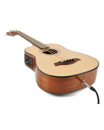 Richwood Traveler Series Acoustic Bass Guitar RTB-80 - Solid Top with Fishman Presys EQ