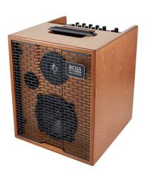 Acus One for Strings ONE-5T Acoustic instrument amplifier 50 Watt, 2 Channels - Natural Wood.