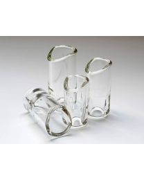 The Rock Slide Moulded Glass Slide available in Small, Medium, Large & XL