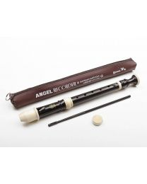 Angel Recorder - Soprano  Black / Ivory