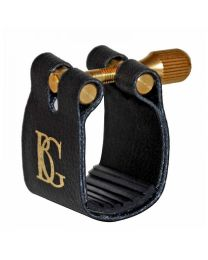 BG Standard Fabric Ligature - Alto Sax - Rubber Support