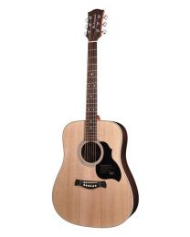 Richwood Master Series D60 Handmade Dreadnought Guitar, Solid Spruce & Rosewood, Gloss