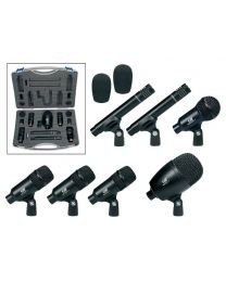 Gatt Audio 7 piece Drum Microphone set / Mics