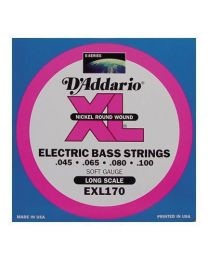 D'Addario EXL170 Nickel Electric Bass Strings Regular Light .045