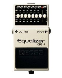 Boss GE-7 7 Band Graphic Equalizer Pedal / Stomp Box