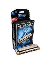 Hohner 532 Blues Harp MS-Series Harmonica (A Key)