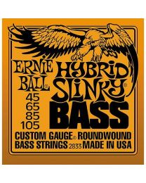 Ernie Ball Hybrid Slinky Round Wound Bass Guitar Strings