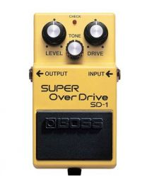 Boss SD-1 Super Overdrive Pedal / Stomp Box