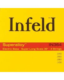 Thomastik Infeld IN364 Extra Long Superalloy Bass Strings Super Long Scale