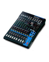 Yamaha Mixer (3rd Generation) 12-Channel SPX Effects & USB Audio Interface with Cubase AI MG12XU